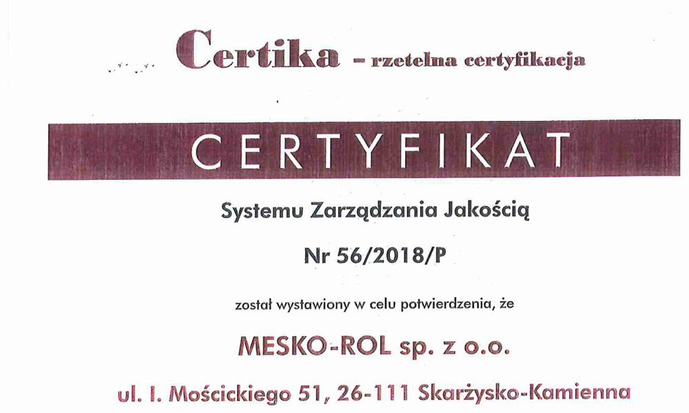 Certyfikat-ISOa